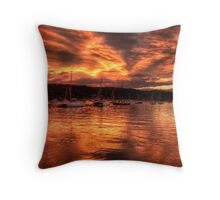 Burn For You - Newport, Sydney Australia - The HDR Experience Throw Pillow