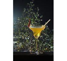 Chill out the spicy drink Photographic Print