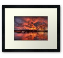Come On Baby Light My Fire - Newport, Sydney Australia - The HDR Experience Framed Print