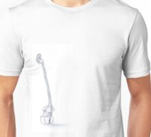Drawing of a bass caricature Unisex T-Shirt