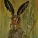 Brown Hare by Lynn Hughes