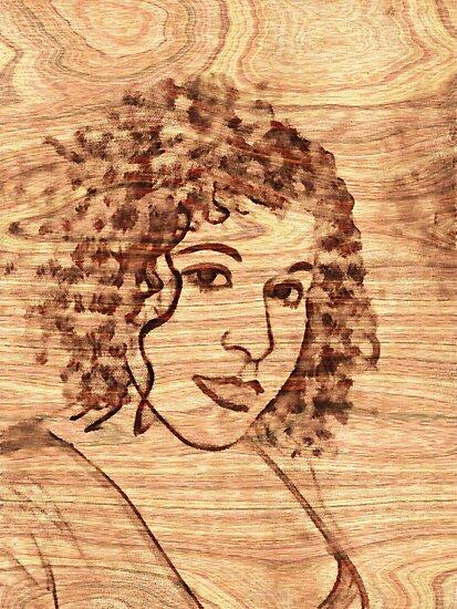 Girl In The Wood by Linda Miller Gesualdo