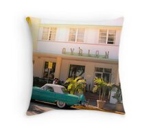 Miami Oldshool Throw Pillow
