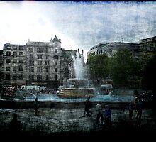 Trafalgar Square by Benedikt Amrhein