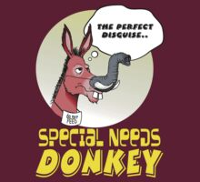 Special Needs Donkey by AdeGee