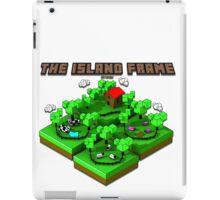 Isometric Island Frame iPad Case/Skin