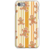 Gingerbread Men iPhone Case/Skin