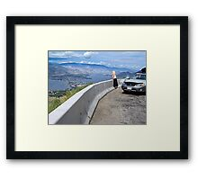 Osoyoos Down Below Framed Print