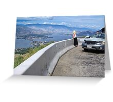 Osoyoos Down Below Greeting Card