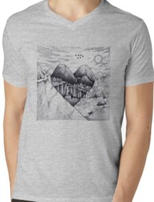 Wild At Heart Mens V-Neck T-Shirt