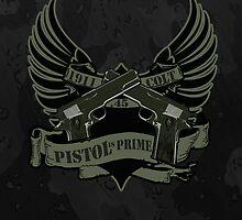 Colt .45 Pistol is Prime iPhone Case by blgarver