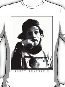 Larry Bourgeois Moustashe finger  T-Shirt