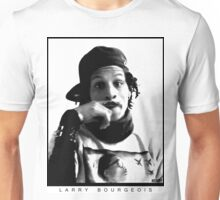 Larry Bourgeois Moustashe finger  Unisex T-Shirt