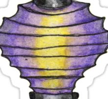 Paper Lantern 3 Sticker