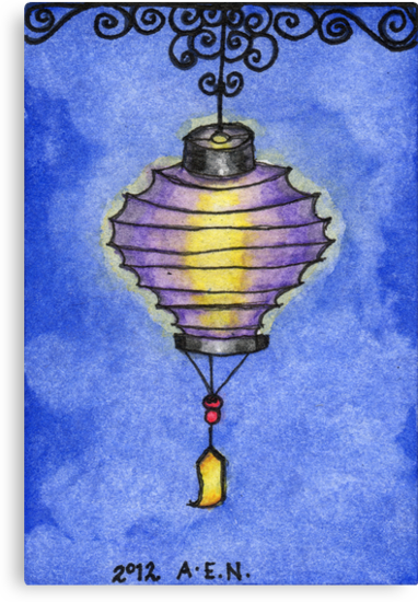 Paper Lantern 3 by Amy-Elyse Neer