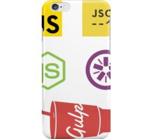 Javascript Tooling iPhone Case/Skin