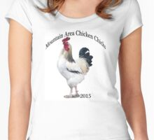 Mountain Area Chicken Chicks 2015 Women's Fitted Scoop T-Shirt