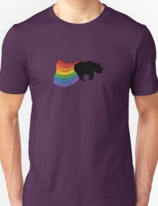 Rhino Rainbow Power! Unisex T-Shirt