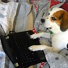 Just Checking My E-Mail, Mommy! by Debbie Meyers
