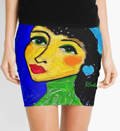 Green Eyed Lady Mini Skirt