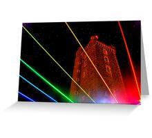 Rainbow Tower Greeting Card