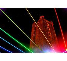 Rainbow Tower Photographic Print