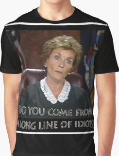 Long Line of Idiots Graphic T-Shirt