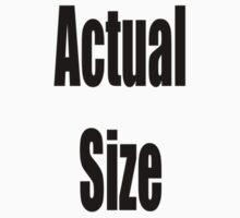 Actual Size Kids Clothes