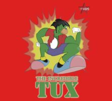 I.T HERO - The Incredible Tux Kids Tee