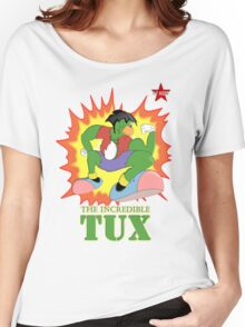 I.T HERO - The Incredible Tux Women's Relaxed Fit T-Shirt