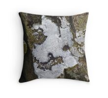 The Lichen of the Baskervilles Throw Pillow