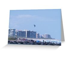 Fort Pierce North Jetty Greeting Card