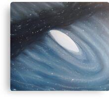 Galaxy  Collision - Andromeda Canvas Print
