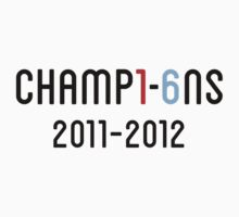Manchester City Champions 2012 by weRsNs