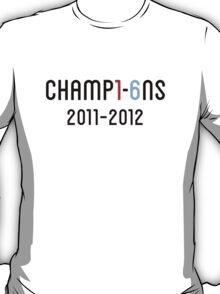 Manchester City Champions 2012 T-Shirt