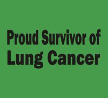 Lung Cancer One Piece - Short Sleeve