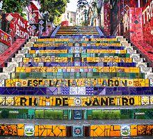 Escadaria Selaron by Nicolas Noyes