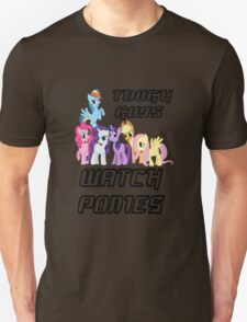 Tough guys [black text] Unisex T-Shirt