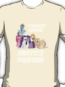 Tough guys [white text] T-Shirt