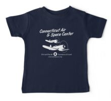 Connecticut Air & Space Center Corsair Design (White)  Baby Tee