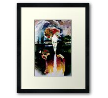 The suitor Framed Print
