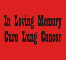Lung Cancer One Piece - Long Sleeve