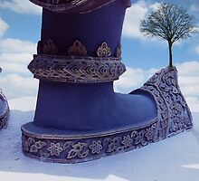 tree on shoe by NafetsNuarb