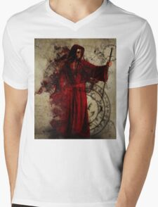 Necromancer Mens V-Neck T-Shirt
