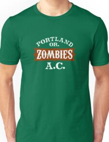 Portland Zombies Athletic Club (dark) T-Shirt