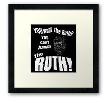 RBG Truth  Framed Print