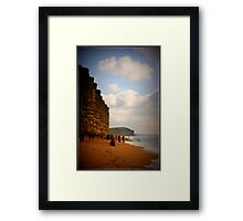 """ Jurrasic Coast "" Framed Print"