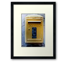 before email Framed Print