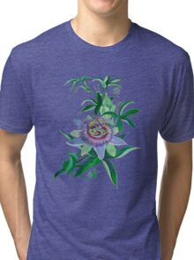 Passion Flower Tri-blend T-Shirt