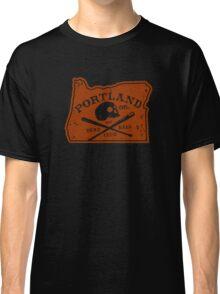 Portland Deadball Oregon Logo Classic T-Shirt